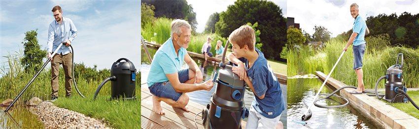 Ako si vybrať jazierkový vysávač
